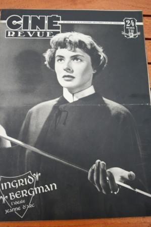 1948 Ingrid Bergman Gerard Philipe Madeleine Carroll