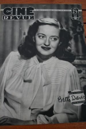 Bette Davis James Stewart Doris Day Madeleine Sologne