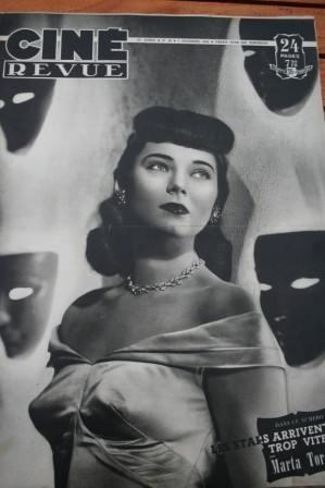 48 Marta Toren Alan Ladd Mariano Tcherina Joan Bennett