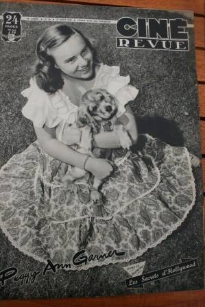1948 Peggy Ann Garner Spencer Tracy Doris Day Valentino