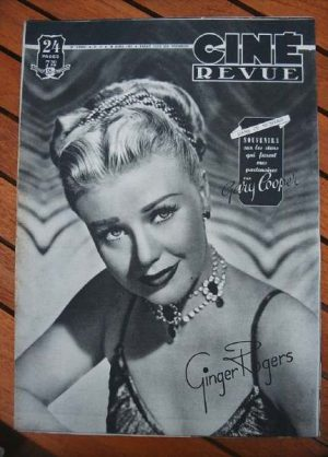 1949 Ginger Rogers Gary Cooper Diana Dors Wallace Beery