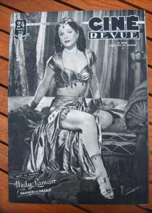 49 Hedy Lamarr Renee Saint Cyr Robert Ryan Weissmuller