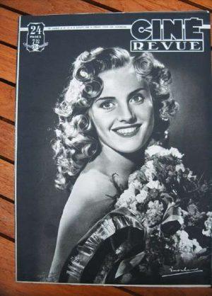 1949 Robert Ryan Loretta Young Cary Grant Jone Salinas