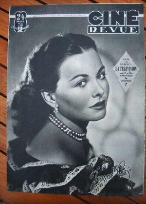 1949 Jeanne Crain Gregory Peck Yvonne De Carlo Mitchum