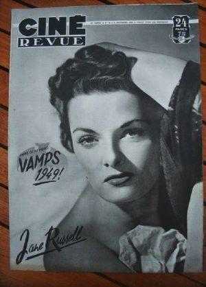 49 Jane Russell Ingrid Bergman Gregory Peck Jane Wyman