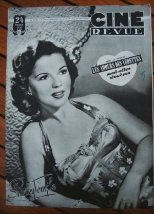1949 Shirley Temple Gene Kelly Lana Turner Maria Montez
