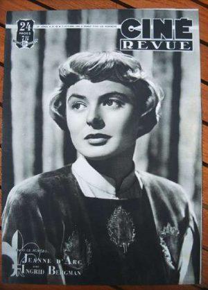 Ingrid Bergman Joan Of Arc Robert Douglas Dana Andrews