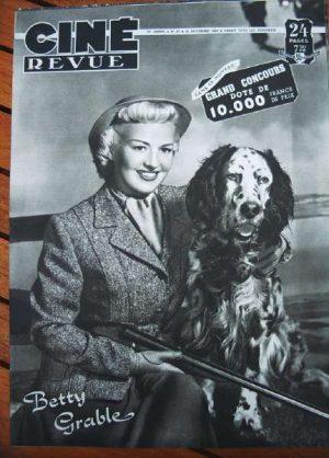 49 Betty Grable Eve Arden Lillian Gish Lex Barker Sabu