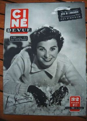 1949 Jean Simmons Clark Gable Odile Versois Danny Kaye