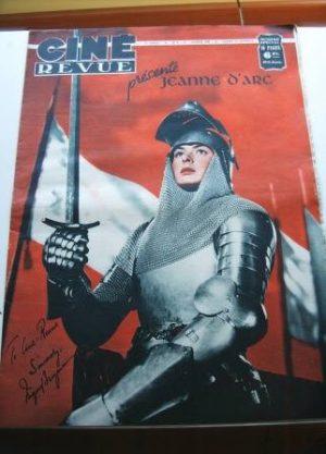 1949 Ingrid Bergman Joan Of Arc Original Mag Tons Pics