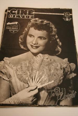 1949 Teresa Wright Sessue Hayakawa Claire Trevor Romay