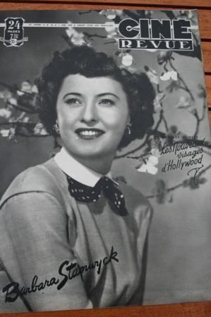 49 Barbara Stanwyck Viveca Lindfors Errol Flynn Bogart