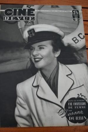 Deanna Durbin Dan Dailey Olivia De Havilland E. Flynn