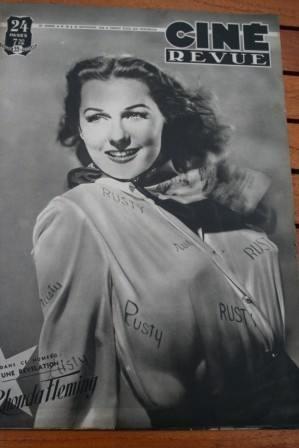 Rhonda Fleming Fernandel Richard Widmark Gene Tierney