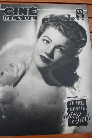 Anne Baxter Carla Del Poggio Jack La Rue Tyrone Power