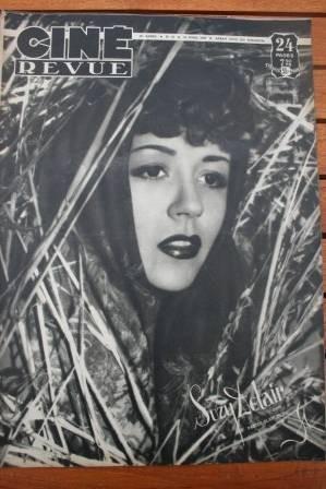 1949 Suzy Delair Edward G Robinson Liz Taylor Mangano