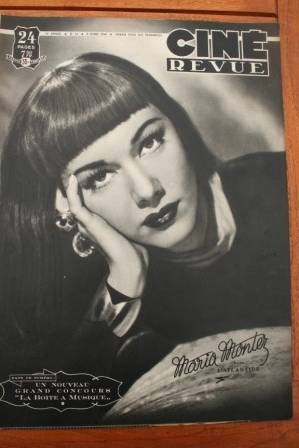 49 Maria Montez Ingrid Bergman Montgomery Clift Bacall