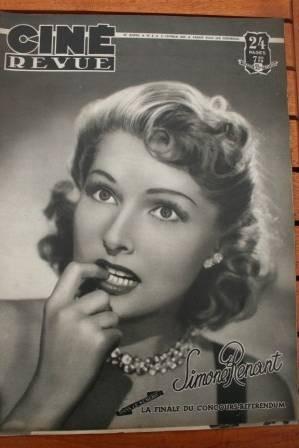 George Raft Claudette Colbert Ingrid Bergman Don Ameche