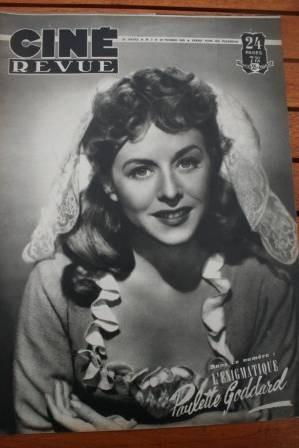 Paulette Goddard Deborah Kerr Trevor Howard Alida Valli