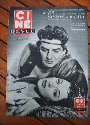 1950 Hedy Lamarr Victor Mature Eleanor Parker Chevalier
