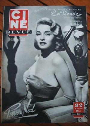 1950 Patricia Neal Danielle Darrieux Eleanor Parker
