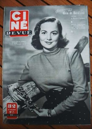 1950 Olivia De Havilland Montgomery Clift The Heiress