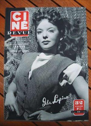 1950 Ida Lupino Jean Marais Gregory Peck Dane Clark