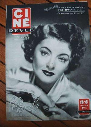 1950 Myrna Loy Montgomery Clift Susan Hayward Sernas