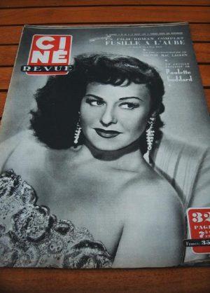 1950 Paulette Goddard Victor Mac Laglen Charles Trenet