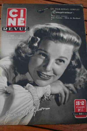 1950 June Allyson Danny Kaye Robert Taylor Liz Taylor