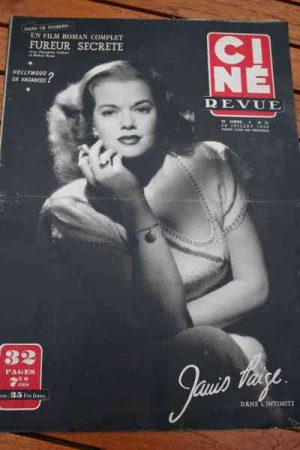 1950 Janis Paige Gene Kelly Gregory Peck Robert Ryan