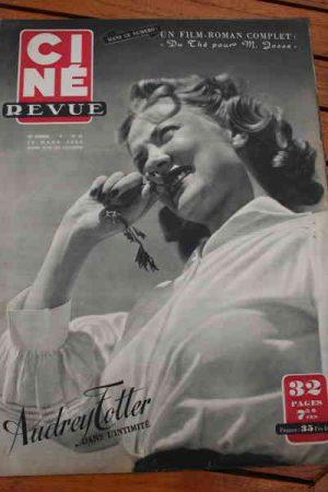 1950 Audrey Totter Bob Hope Danny Kaye Jane Russell