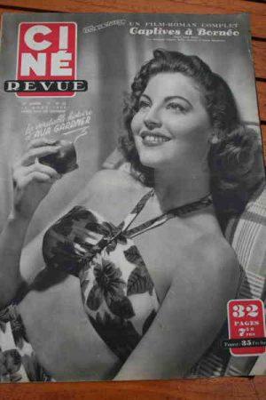 1950 Ava Gardner Lex Barker Joan Crawford Audie Murphy