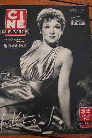 1950 Jean Kent Roy Rogers Susan Hayward Dana Andrews