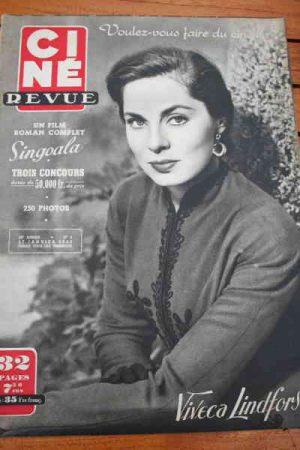 1950 Viveca Lindfors Ruth Roman Yvonne De Carlo Jansen
