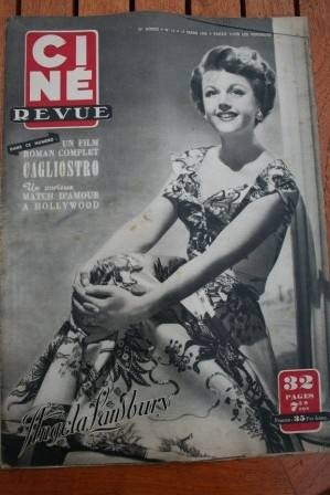 1950 Angela Lansbury Orson Welles Dorothy McGuire