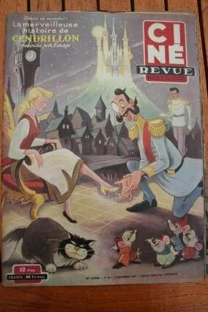 50 Cinderella Disney Jean Simmons Ruth Roman Vivi Gioi