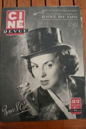 1950 Renee Saint Cyr Erich Von Stroheim Michel Auclair