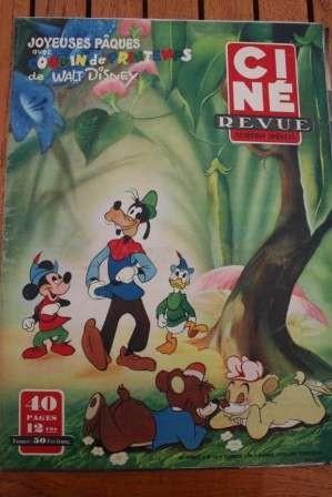 50 Disney Shelley Winters Jeanne Crain Grock Joanne Dru