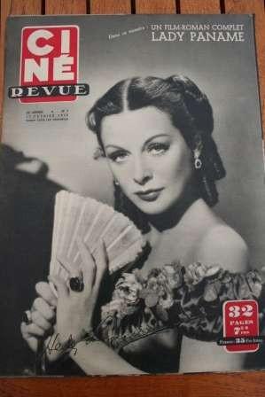 Hedy Lamarr Douglas Fairbanks Errol Flynn Joan Crawford