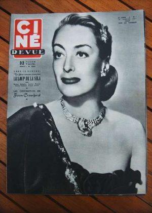 1951 Joan Crawford Jean Marais Harold Lloyd Hedy Lamarr