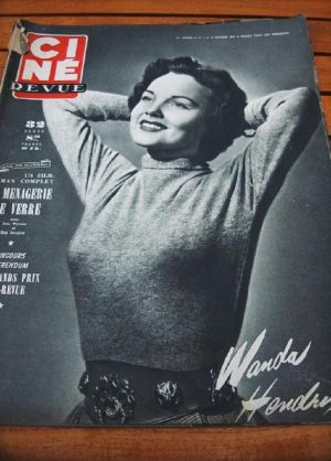 51 Wanda Hendrix Joan Caulfield Jane Wyman Kirk Douglas