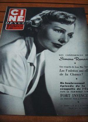51 Simone Renant Gregory Peck Ray Milland Edmund Gwenn