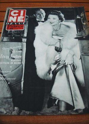 1951 Feuillere Bill Grady Joseph Cotten Esther Williams