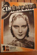 Magazine 1929 Renee Heribel George Bancroft Jack Trevor Erotikon