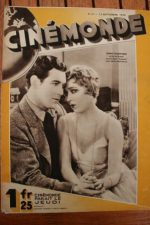 Magazine 1929 Mary Pickford Johnny Mack Brown Douglas Fairbanks Ivan Mosjoukine