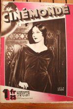 Magazine 1929 Leila Hyams Buster Keaton Lupe Velez Al Jolson Marian Nixon