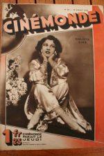 Magazine 1929 Carlotta King Lupe Velez Abel Gance Diana Karenne Phyllis Crane