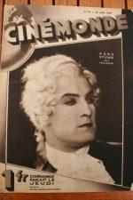 Magazine 1929 Hans Stuwe Jack Holt Suzy Vernon Sally O'Neil Corinne Griffith