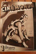Magazine 1929 Julia Faye Joan Crawford Sally Blane Loretta Young Jean Arthur